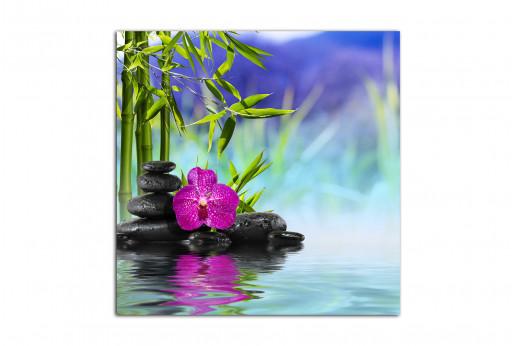 Картина Бамбук на воде